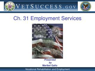 Ch. 31 Employment Services