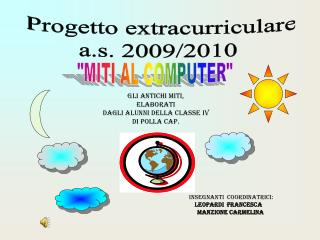 Progetto extracurriculare a.s. 2009/2010