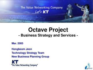 Octave Project - Business Strategy and Services -