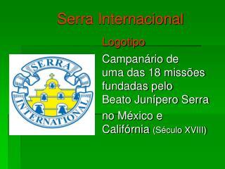 Serra Internacional Logotipo