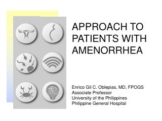 APPROACH TO PATIENTS WITH AMENORRHEA