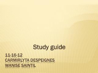 11-16-12 Carmirlyta Despeignes wanise saintil