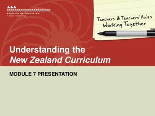 Understanding the  New Zealand Curriculum