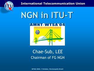 NGN in ITU-T