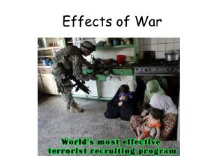 Effects of War