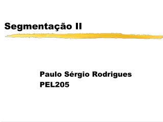 Segmentação II