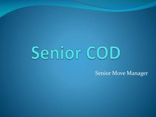 Senior COD