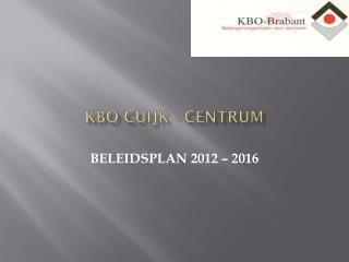 KBO Cuijk - Centrum