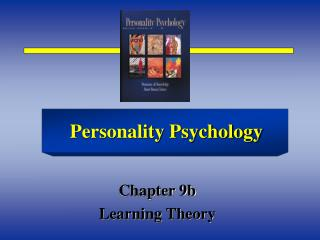 Chapter 9b Learning Theory