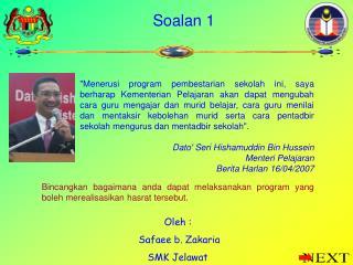 Soalan 1