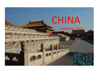 CHINA September 2010