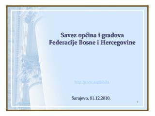 Savez općina i gradova Federacije Bosne i Hercegovine sogfbih.ba