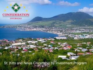 St. Kitts and Nevis Citizenship by Investment Program
