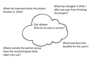 What has improved when  the  project finishes  in   2016?