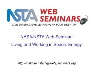 institute.nsta/web_seminars.asp