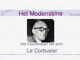 Het Modernisme