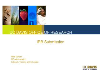 IRB Submission
