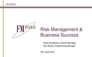 Risk Management & Business Success