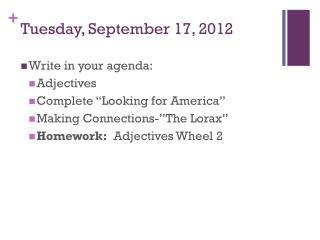 Tuesday, September 17, 2012