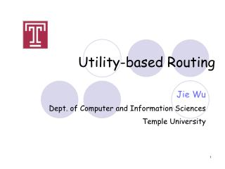 Utility-based Routing