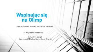 Wspinając się  na Olimp