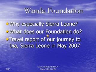 Wanda Foundation