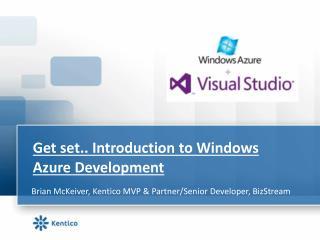 Get set.. Introduction to Windows Azure Development