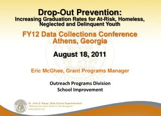Drop-Out Prevention: