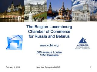 The Belgian-Luxembourg Chamber of Commerce  for Russia and Belarus ccblr