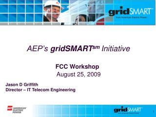 AEP's  gridSMART sm  Initiative