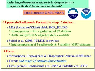 3. What changes of temperature have occurred in the atmosphere and at the