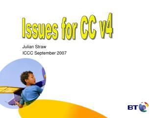 Julian Straw ICCC September 2007