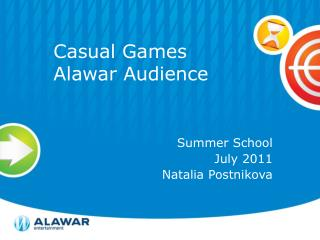 Casual Games Alawar  Audience