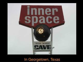 In Georgetown, Texas