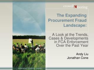 The Expanding Procurement Fraud Landscape: