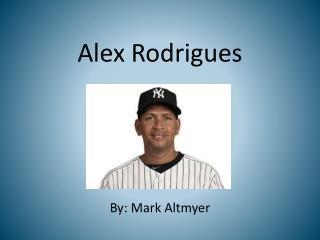 Alex  Rodrigues
