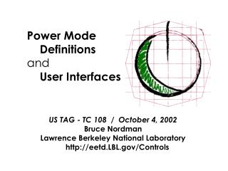 Power Mode      Definitions  and      User Interfaces