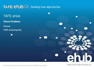 TAFE  eHub