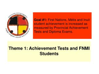 Theme 1: Achievement Tests and FNMI Students