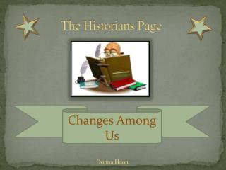 The Historians Page