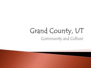 Grand County, UT