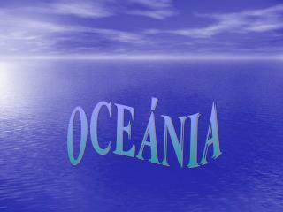 OCEÁNIA
