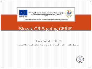 Slovak CRIS  going  CERIF