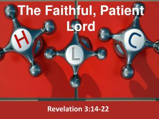 The Faithful, Patient  Lord