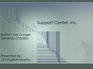 Support Center, Inc.