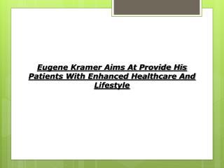 Eugene M. Kramer DC