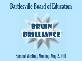 Bartlesville Board of Education