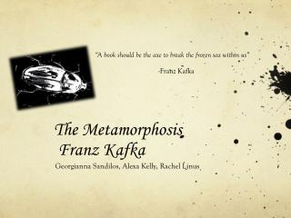 The Metamorphosis  Franz Kafka