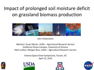 Impact of prolonged soil moisture deficit on grassland biomass production