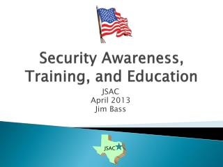 Security Awareness, Training, and Education